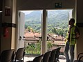 Wikimania 2016 - looking out of the window.jpg