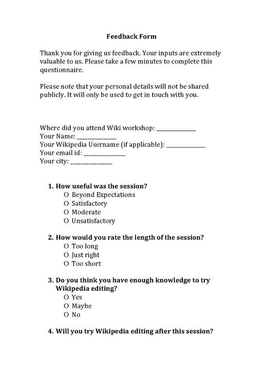 File:Wikipedia Workshop Feedback Form.Pdf - Wikimedia Commons