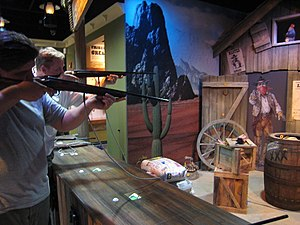 National Museum of Crime & Punishment - Image: Wild West Shooting Gallery