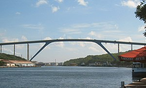 Queen Juliana Bridge - Image: Willemstad brug