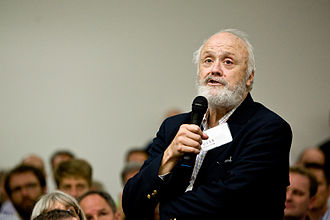 William H. Calvin - At a conference in 2008