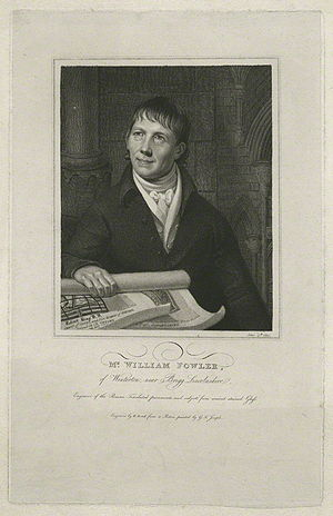 William Fowler (artist) - William Fowler by William Bond, after George Francis Joseph.