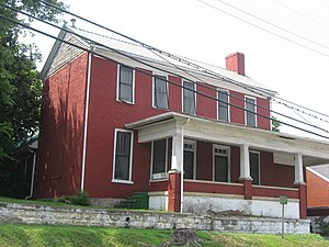 William Herndon (lawyer) - Herndon's birthplace in Greensburg