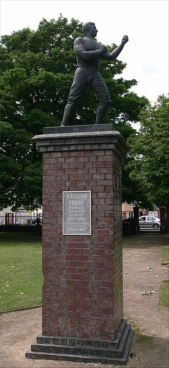 William Perry (boxer) - Statue in a Tipton park