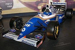 Williams FW16B front-left 2017 Williams Conference Centre.jpg