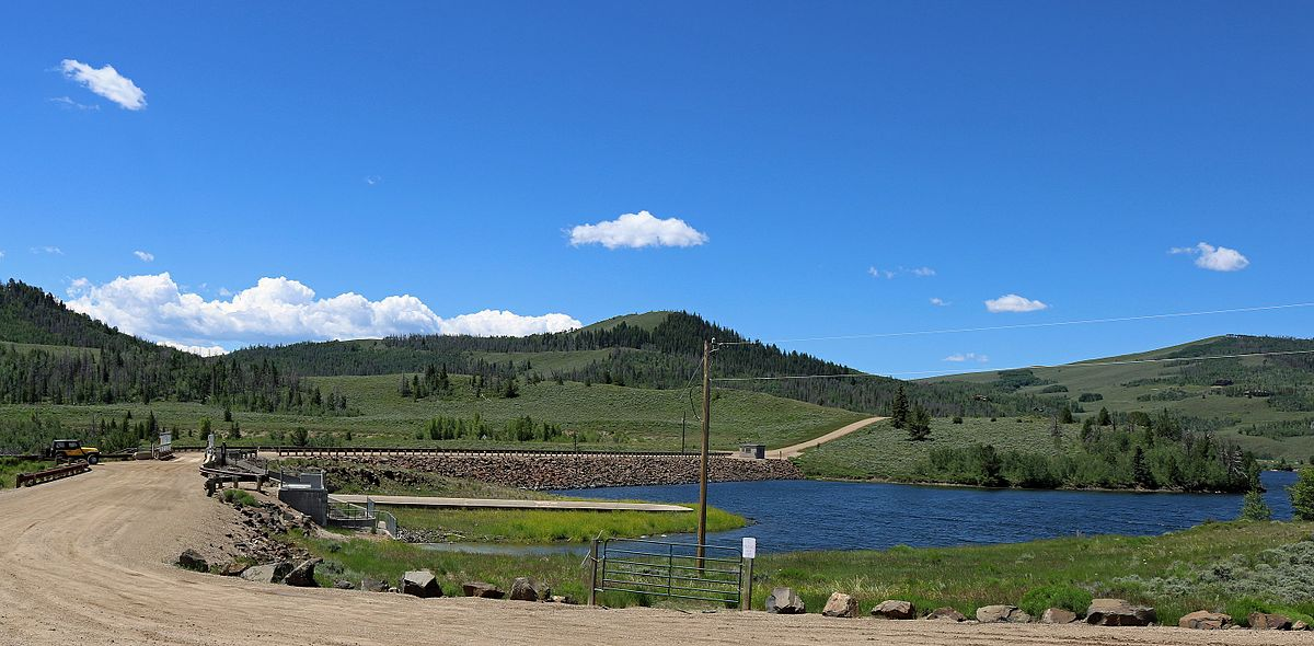 Willow Creek Dam (Colorado) - Wikipedia