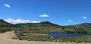 Willow Creek Dam (Colorado) Dam in Colorado