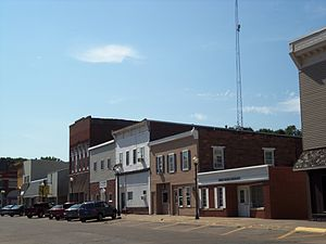 Wilton, Iowa - Buildings on the north side of West Fourth Street