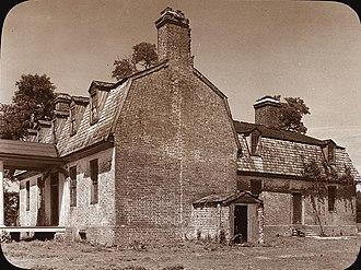 Hartfield, Virginia - Wilton-on-the-Piankatank, Middlesex County, Virginia, by Frances Benjamin Johnston, 1935