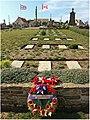 Wimereux (France – Pas-de-Calais) — Cimetière communal et de la Commonwealth War Graves Commission — Tombe du Lieutenant - colonel John Alexander McCrae 02.jpg