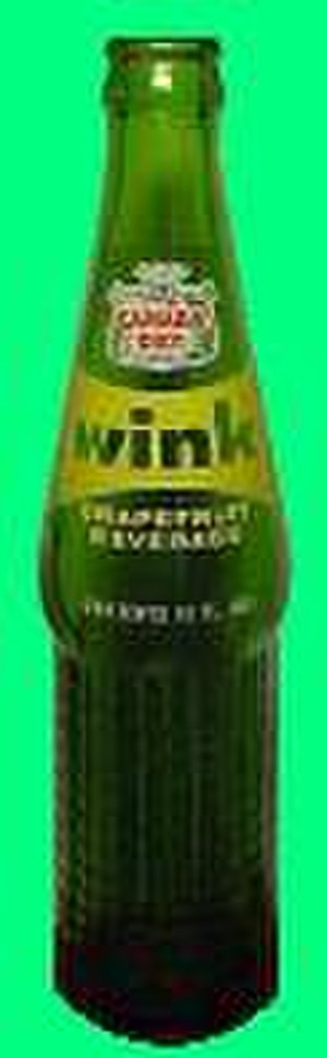 Wink (soft drink) - Wink Bottle circa 1970