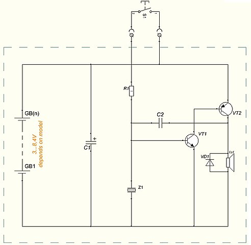 492px Wiring_diagram_of_battery powered_doorbell file wiring diagram of battery powered doorbell jpg wikimedia Simple Battery Diagram at creativeand.co
