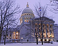 Wisconsin State Capitol, Christmas Eve, 2012.jpg