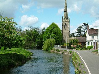 Witherley Village in Leicestershire, England