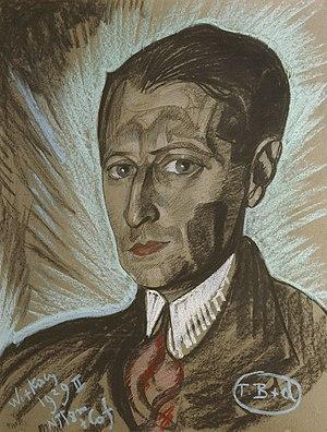 Julian Tuwim - Portrait of Tuwim by Witkacy.