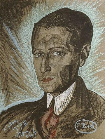 Портрет Юлиана Тувима Станислава Виткевича (пастель, 1929)