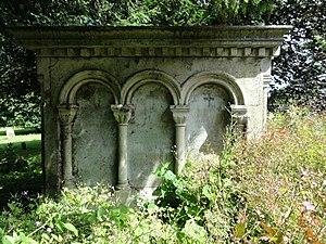 George Witt (collector) - The Witt family tomb at Swaffham Prior