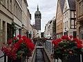 Wittenberg - Stadtbach in der Schlossstrasse (Town Stream in the Schlossstrasse) - geo.hlipp.de - 28216.jpg