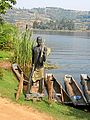 Wodden Figure Fisherman at Lake Bunyonyi B.jpg