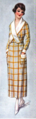 Woman's Home Companion 1919 - Housedress yellow plaid.png