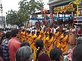 Women devotees perform Kolatam at Bhadrachalam temple.jpg