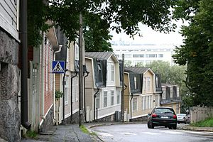 Vallila - Image: Wooden Vallila houses 5 2005 29 08