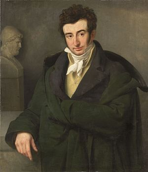Paul Joseph Gabriël - Portrait of Gabriël by Woutherus Mol, 1818, now in the Rijksmuseum