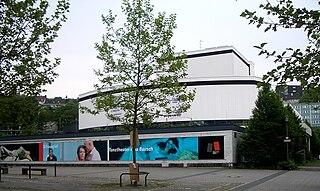 Schauspielhaus Wuppertal former municipal drama theatre in Elberfeld, Wuppertal, Germany