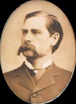 Wyatt earp portrait