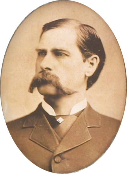 Wyatt Earp served as a lawman in Wichita during the 1870s. - Wichita, Kansas