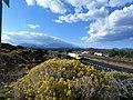 Wynona, AZ, View W, The San Francisco Peaks, 2011 - panoramio.jpg