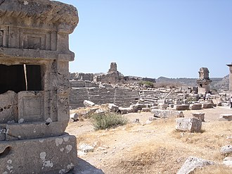 Xanthos - Xanthos city ruins