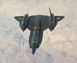 Lockheed YF-12 American prototype interceptor aircraft