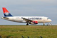 YU-API - A319 - AirSERBIA