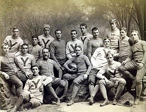 1887 Yale Bulldogs football team - Image: Yale Bulldogs football team (1887)
