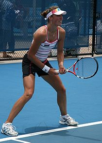 Yanina Wickmayer a Brisbane (2009).