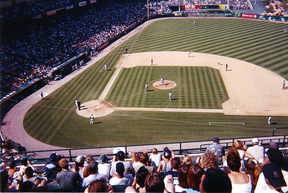 Yankees vs. Angels 2001