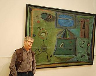 Vladimir Yankilevsky - Yankilevsky in 2010 in Tretyakovsky Gallery, Moscow