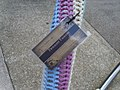 Yarn bomb - bike stand (5520899027).jpg