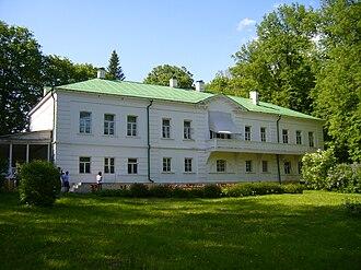 Yasnaya Polyana - House of Leo Tolstoy in Yasnaya Polyana.