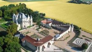 Château du Rivau - Image: Yellow Rivau