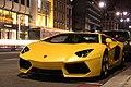Yellow aventador (6888933763).jpg
