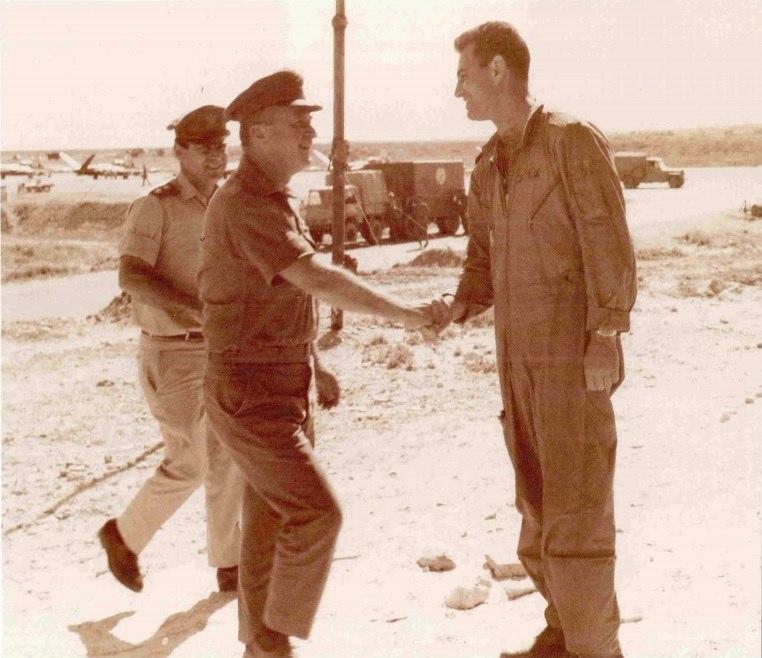 Yitzhak Rabin and Arie ben Or