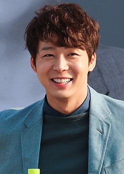 "Yoochun at ""Birth of actor, Park Yoochun"" open talk at BIFF, 3 October 2014 01.jpg"