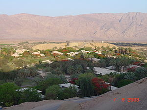 Yotvata - Image: Yotvata and Edom Mountains