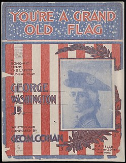 Youre a Grand Old Flag song composed by George M. Cohan performed by Billy Murray