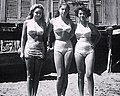Young women of Naples in swimsuit, Italy 1948 (2) - Bathing boxes (cropped).jpg