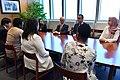 Yukiya Amano meets with Safeguards Trainees 2018 (03210735) (44241743060).jpg