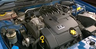 V6 engine - MG Rover Group's KV6 engine