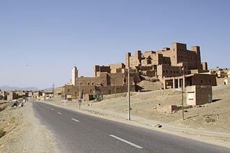 Zagora, Morocco - Image: Zagora Zufahrt N9Von Agdz 02294